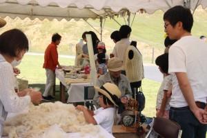 今年の羊たちの毛刈り大会を終了しました。